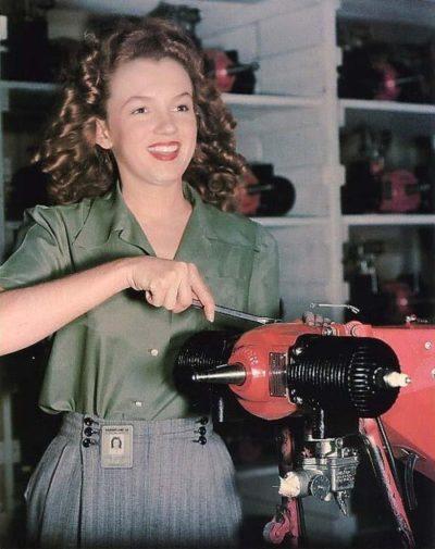 Erkennst Du sie? … Marilyn Monroe