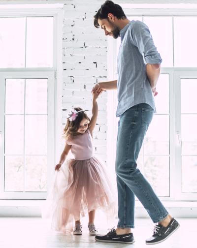Wenn Väter mit ihren Töchtern tanzen
