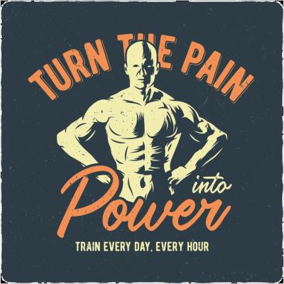 Vewandle den Schmerz in Energie!