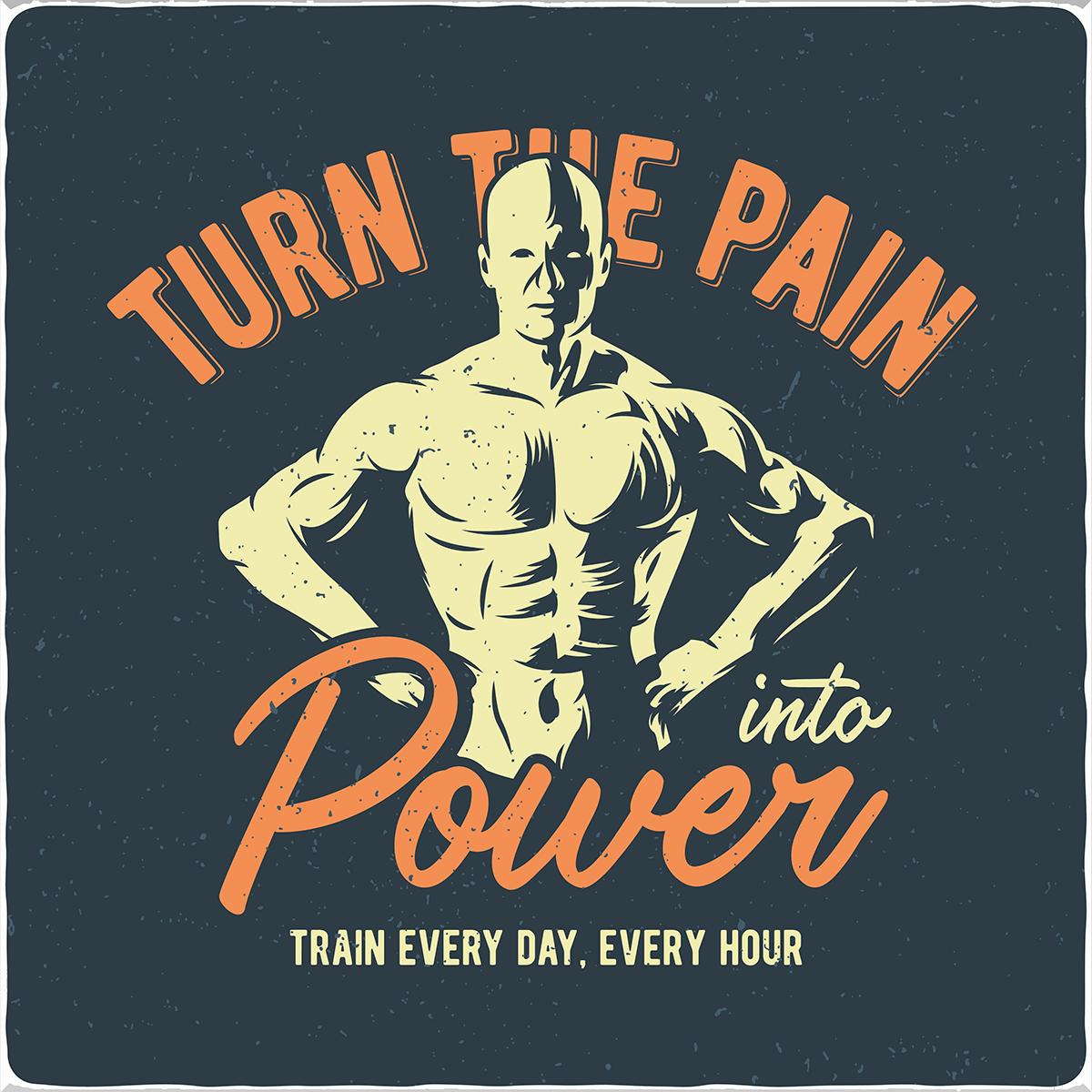 Vewandle den Schmerz in Energie! - Bild: Vozzy|Shutterstock.com