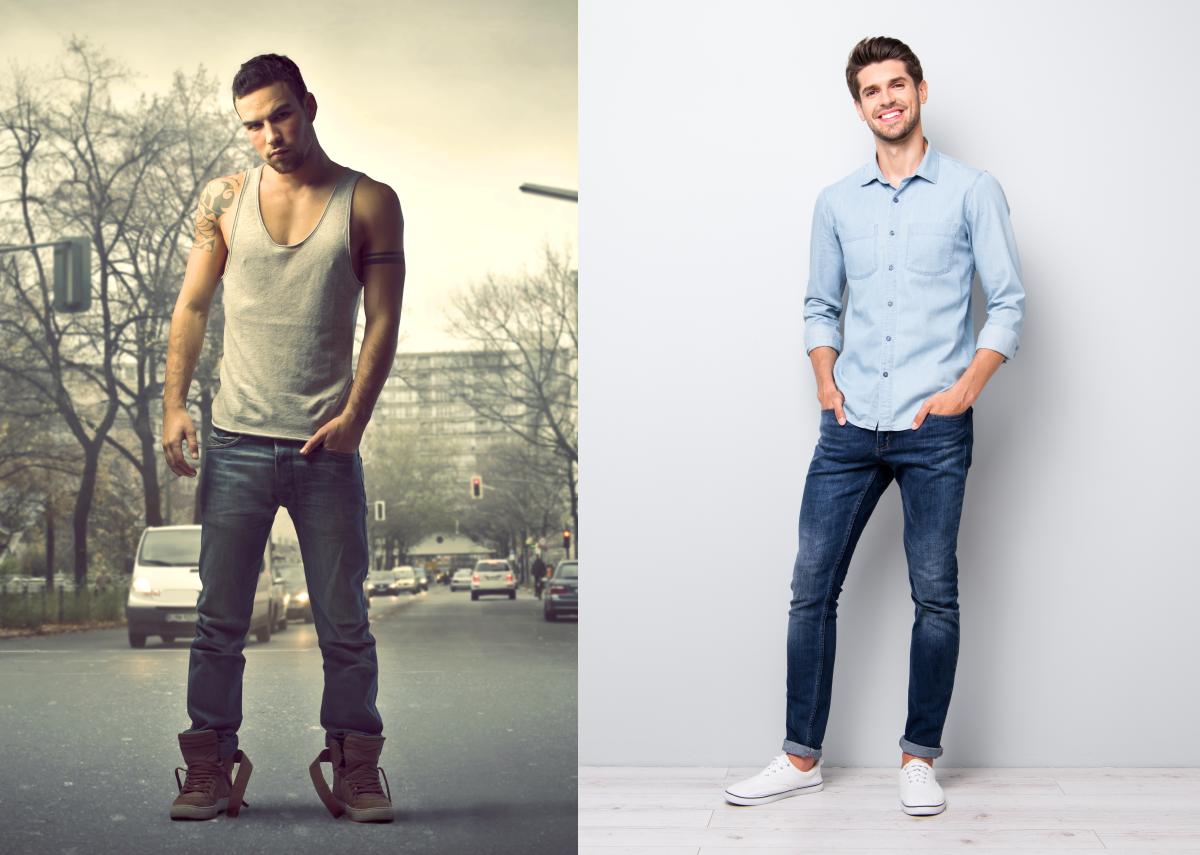 Bad Guy vs. Nice Guy - Bilder: Ollyy & Roman Samborskyi   Shutterstock.com