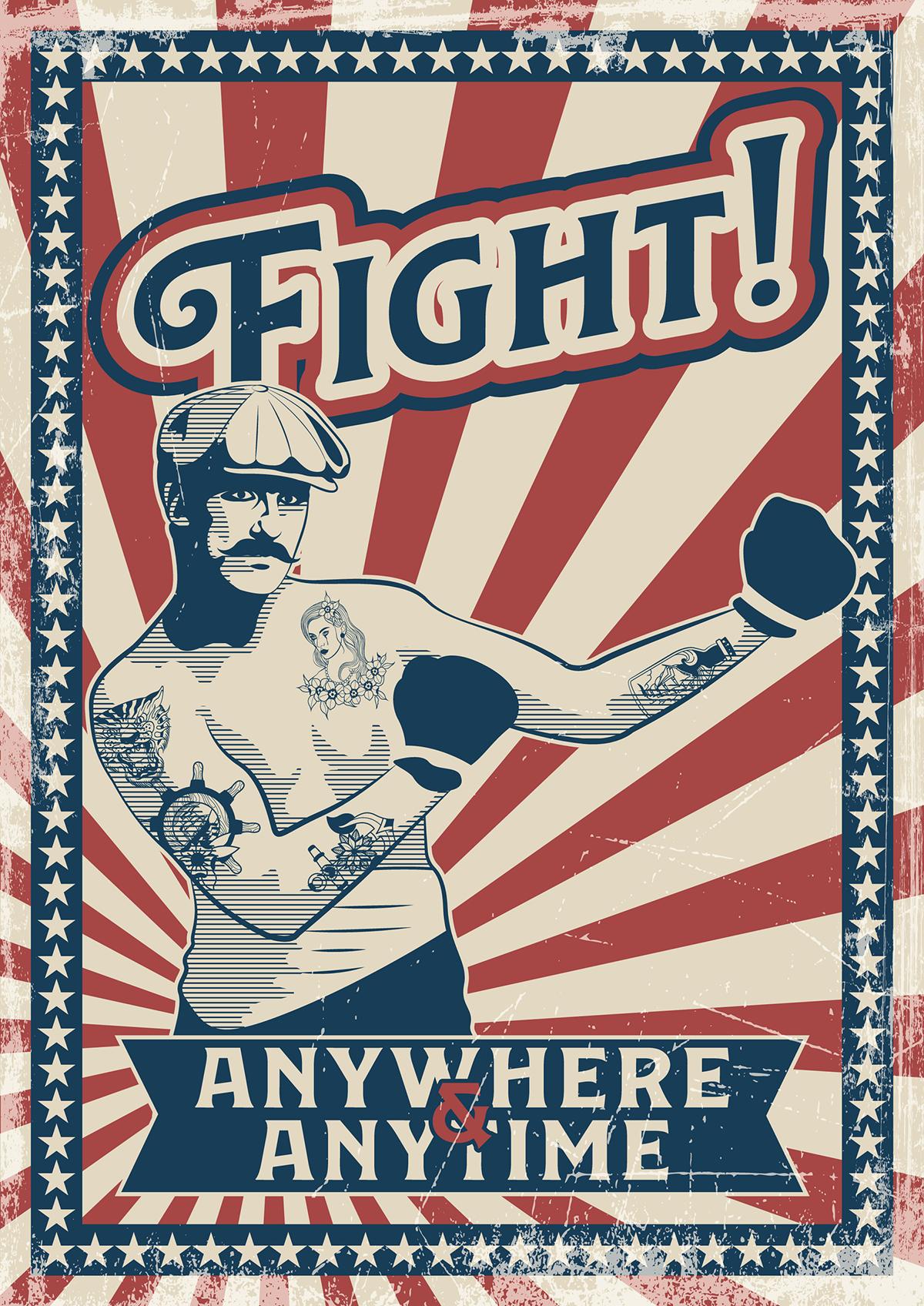 Fight - Anywhere - Anytime - Bild: svekloid|Shutterstock.com