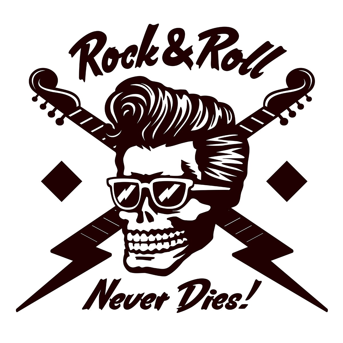 Remember - Rock & Roll Never Dies! (SIC) - Bild: durantelallera Shutterstock.com